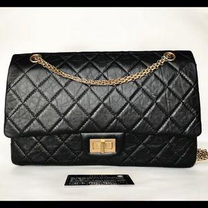 ❌SOLD❌ Chanel Aged Calfskin Reissue 227 Flap Bag